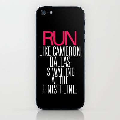 Run+like+Cameron+Dallas+is+waiting+at+the+Finish+line+iPhone+