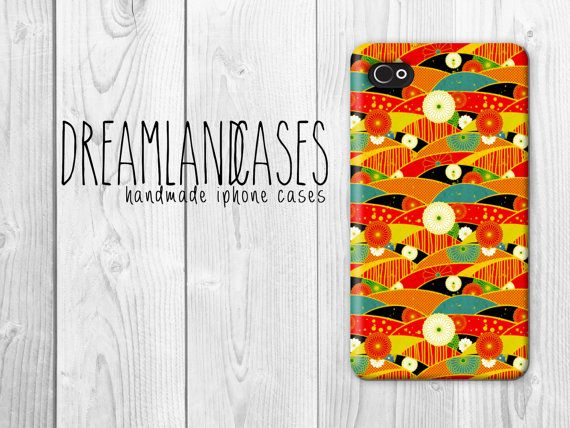 Japanese Floral Silk Patterns Hard Cover Case iPhone5 Case Case iPhone 5 Case iPhone 4 Case 4S Case Texture iPhone Case iPhone 5C case iPhone Case Hipster Cute iPhone 5 Case by DreamlandCases, $13.00