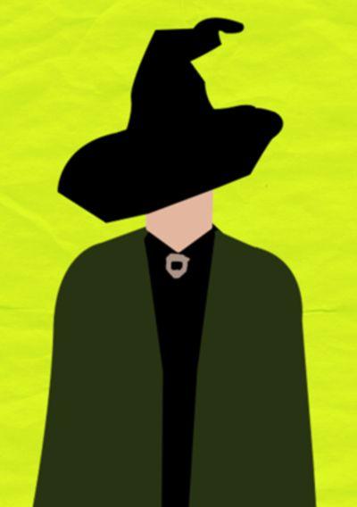 Minimalist Poster - McGonagall