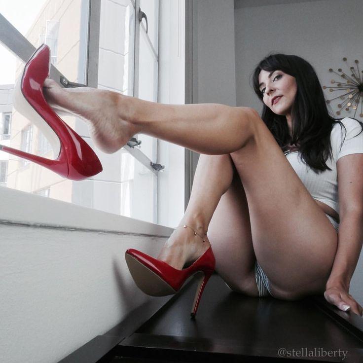Piernas largas y sexy fetiche