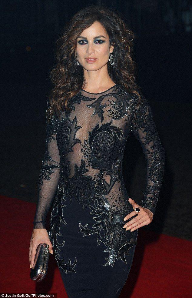 Bond girl style evening dresses