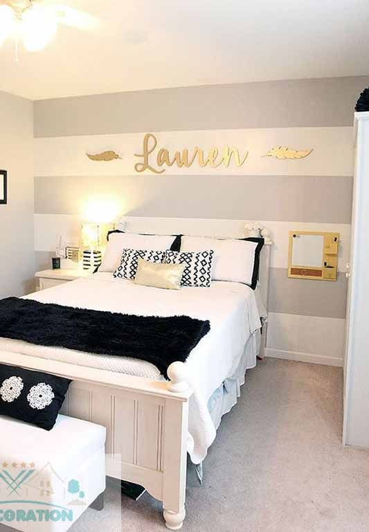 . Pin by Shareka Ford on Accent wall ideas in 2019   Girl room  Teen
