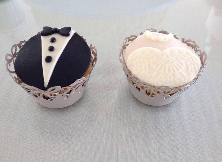 CUPCAKE Mr & Mrs calamoresca.it
