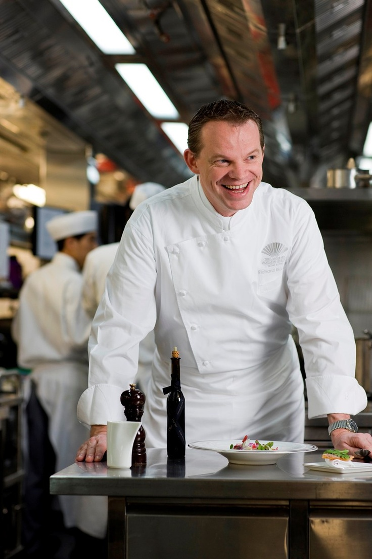 Dutchman, Richard Ekkebus is the executive chef at the Amber Restaurant in the Landmark Mandarin Oriental in Hong Kong