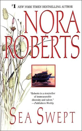 Sea Swept is the first book in the Quinn Brothers trilogy by Nora Roberts. These books are amazing. I love the characters, romance and mystery in this series.