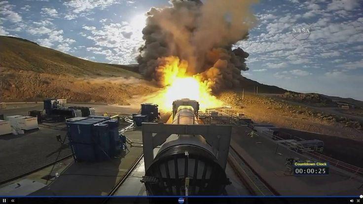 Éxito en la prueba del Cohete de la NASA que nos llevará a Marte [VÍDEO]