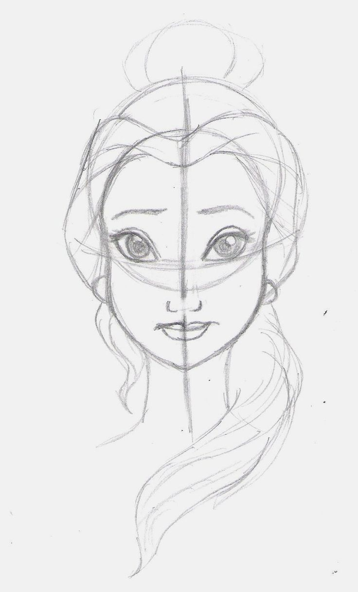 how to draw people disney style