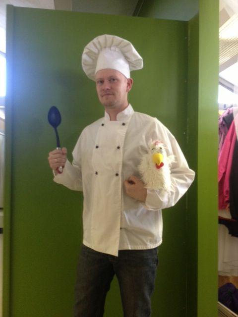 The chef. Is he Swedish?