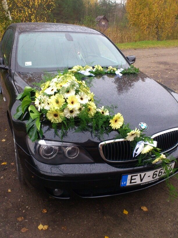 34 best car wedding flowers images on pinterest wedding car wedding car 181013 junglespirit Choice Image
