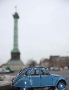 "2CV Week # 15  PARIS PHOTO CHALLENGE: Think you know Paris? Each week I will be posting a picture of my Citroen 2CV car in front of a famous Parisian monument or location. Follow the challenge using the hashtag #JansFrance2CV on Twitter or Instagram or check out my website and make your guess. At the end of each week I will post the answer on my website under ""Paris"""