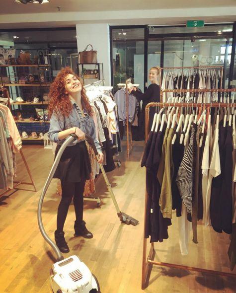 GirlsbehindGuts at the GUTS & GUSTO store @ Arnhem #girlsbehindguts #gutsgusto #fashion #smile #happy
