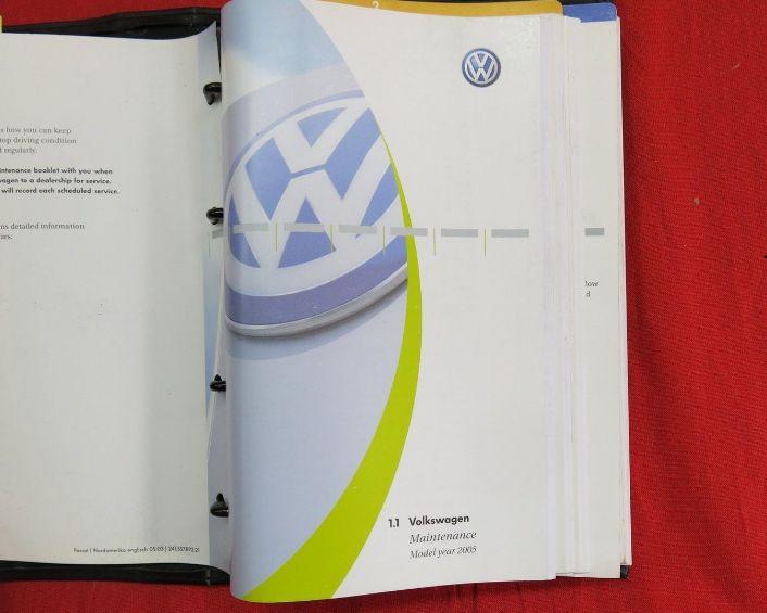 2006 Volkswagen Passat Owners Manual