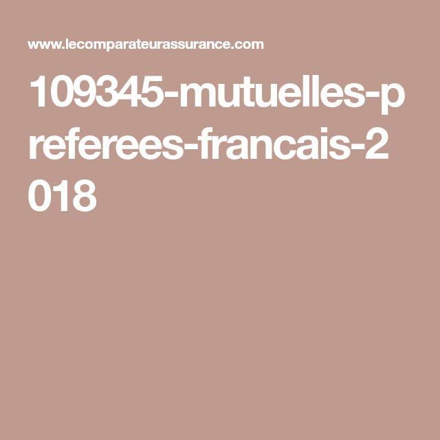 109345-mutuelles-preferees-francais-2018 - France ...