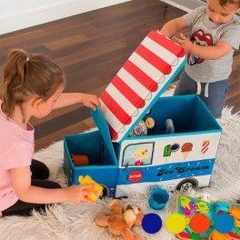 Diese faltbare Stoff-Spielzeugbox darf in keinem Kinderzimmer fehlen. Eine geniale Möglichkeit zur Aufbewahrung von Spielzeugen. Diese Spielzeugbox passt in jedes Kinderzimmer und brauch kaum Platz.