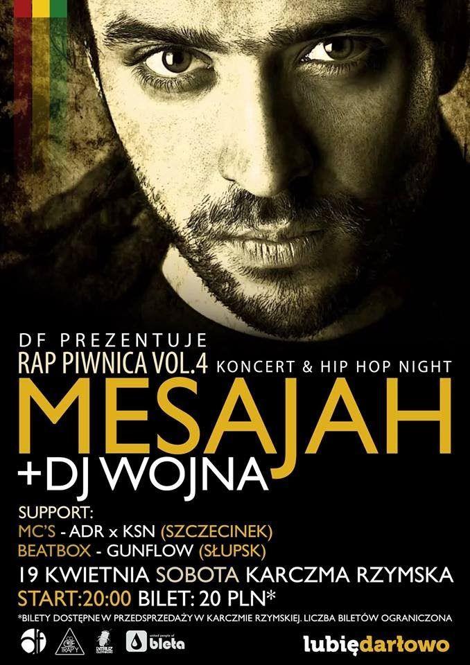 Rap Piwnica vol. 4 - Koncert Mesajah 19 Kwietnia Darłowo spot