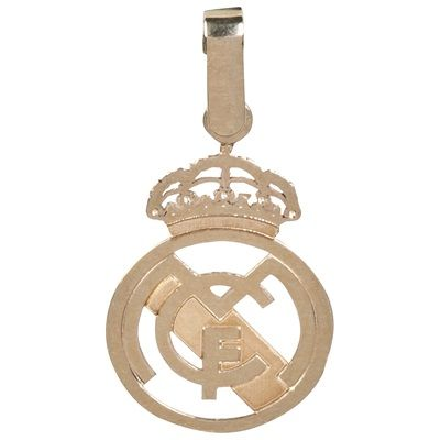 Real Madrid Cut Out Crest Pendant - 9ct Gold: Real Madrid Cut Out Crest Pendant - 9ct #RealMadridShop #RealMadridStore