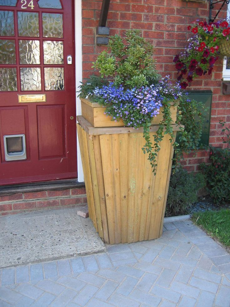 15 Best Hide Trash Cans Images On Pinterest Backyard