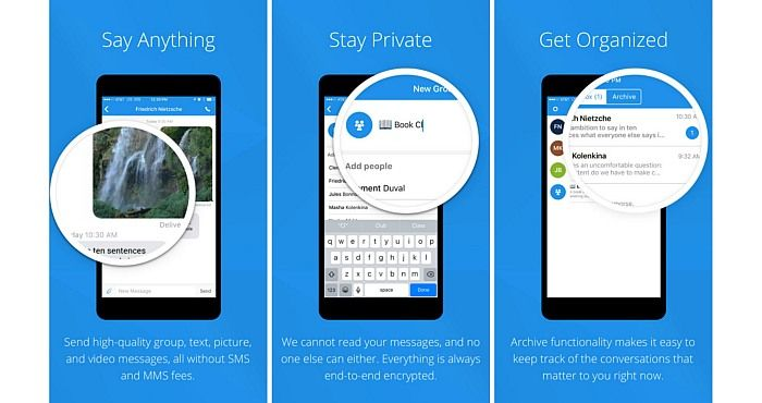 Why Signal Private Messenger is more than a Messaging App - http://www.signaldownload.org/why-signal-private-messenger-is-more-than-a-messaging-app
