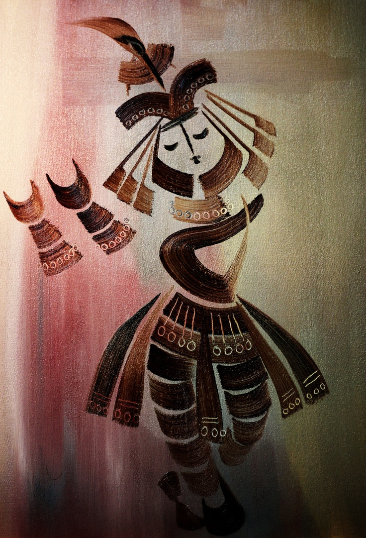 Experiments with Krishna by @Keshav Venkataraghavan