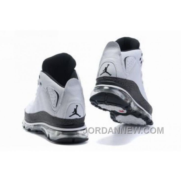 Men's Nike Air Max Jordan Take Flight 2009 Shoes White/Black Free Shipping 26bb3KM