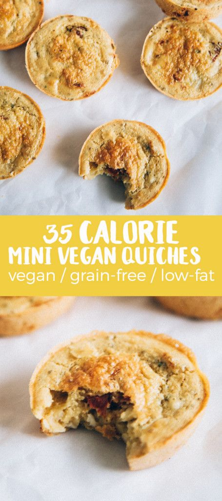 Mini #Vegan Quiches. #GlutenFree #SoyFree