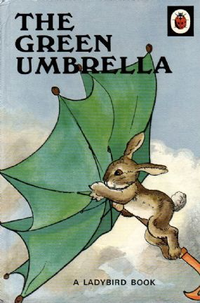 THE GREEN UMBRELLA Vintage Ladybird Book Animal Rhymes Series 401 Gloss Hardback 1985 £6.95