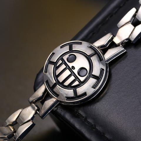 One Piece Trafalgar Law Skull Bracelet - The Cynical Clique - 1