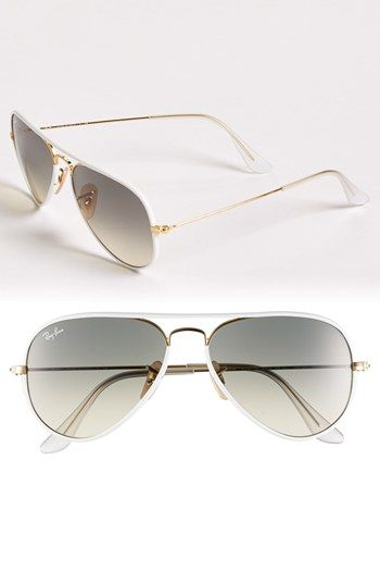 Ray-Ban Aviator 58mm Sunglasses | Nordstrom