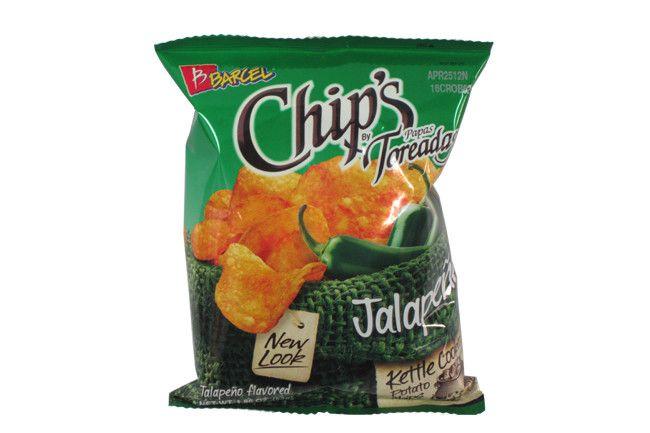 Barcel Chips Papas Toreadas Jalapeno 4.12 oz