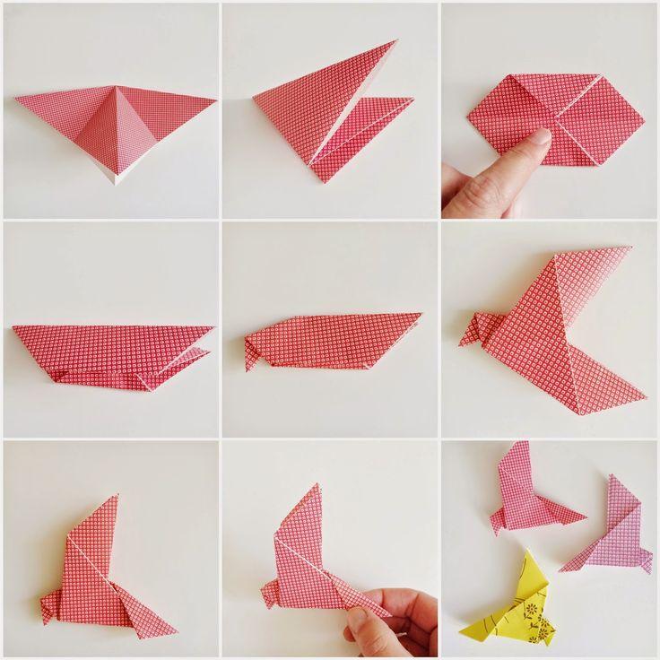 Vogels vouwen | Wimke | DIY (do it yourself) | eenvoudige recepten | uittips