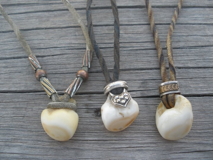 Elk Ivory necklaces