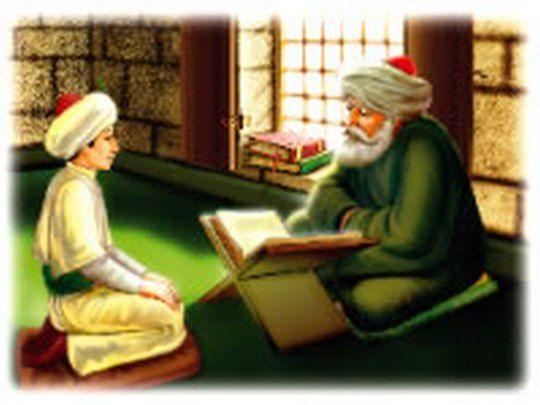 Fatih Sultan Mehmet Han çocukken çok yaramaz bir öğrenciydi. Ders esnasında yaptığı şımarıklıklarla Hocası Akşemseddin'i çileden çıkarırdı.