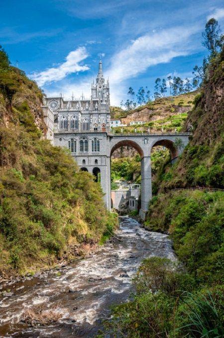 IPIALES El Santuario de Nuestra Señora de Las Lajas Ipiales Nariño Colombia IPITIMES.COM por Artur Coral