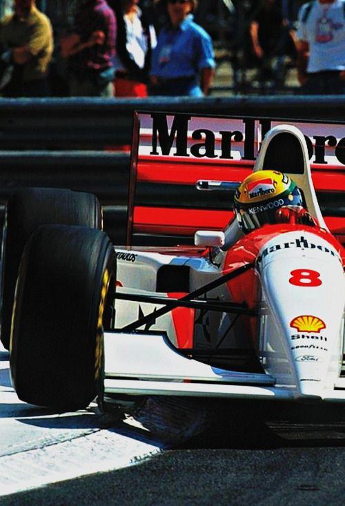 Monaco Grand Prix Senna