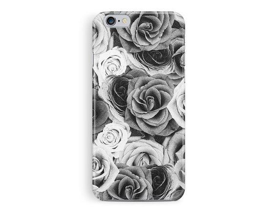 Floral Phone Cover, Shabby Chic iPhone Case, Vintage iPhone Case, Floral iPhone Case, Roses Phone Case, Flowery iPhone Case, Goth iPhone
