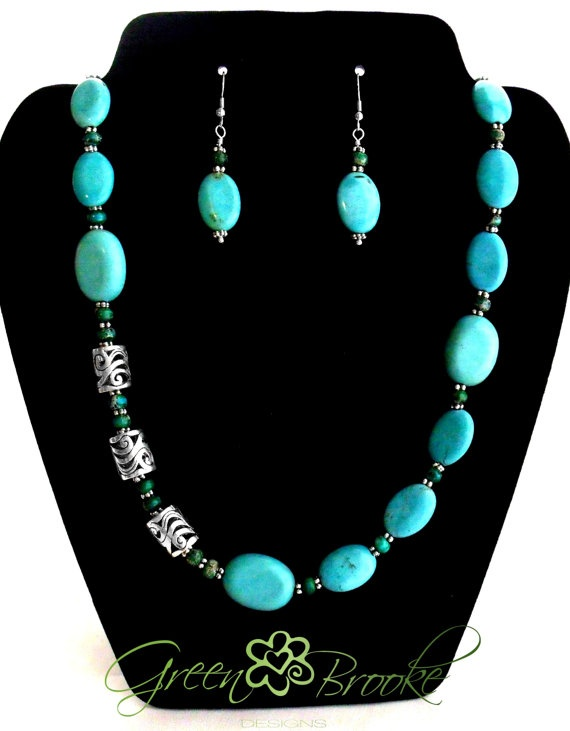 $30.00 turquoise necklace