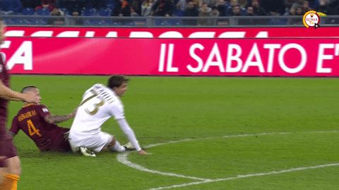 reaction football soccer roma calcio as roma goal celebration asroma nainggolan radja nainggolan via diggita