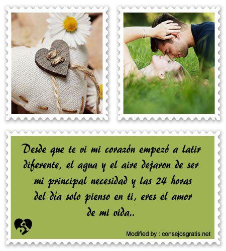 frases originales de amor para mi pareja,frases bonitas de amor para whatsapp:  http://www.consejosgratis.net/frases-super-romanticas-para-mi-amor/