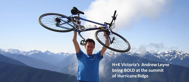 H+K Victoria's Andrew Leyne being BOLD.