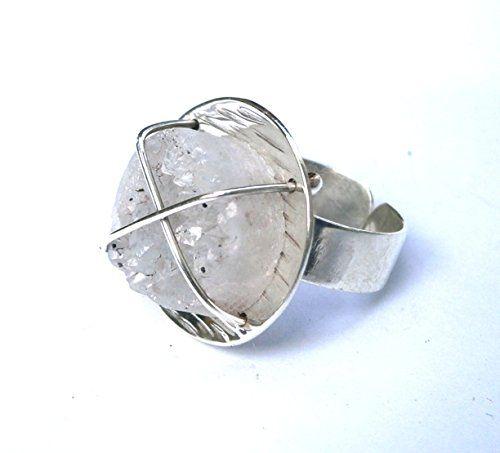 Round Druzy Quartz Ring Konstantis Jewelry http://www.amazon.com/dp/B00QMTSMTE/ref=cm_sw_r_pi_dp_DFCKub0JZPJTZ