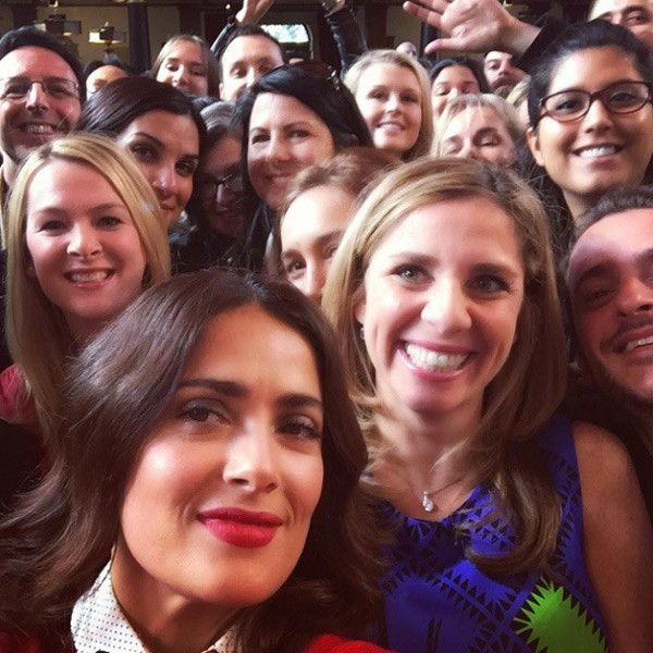 Salma Hayek Joins Instagram, Immediately Posts Stunning Selfies: See the Gorgeous Pics!  Salma Hayke, Instagram