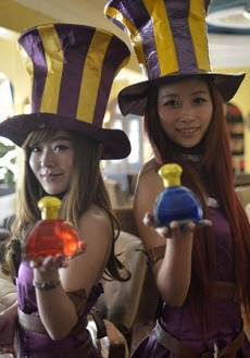 China Opens Questionably Licensed League of Legends Restaurant, 'Demacia'. Too far people. Too far.