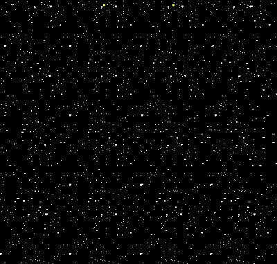 Animated 3D starfield. Relax, let your eyes stare into space. Very cool!