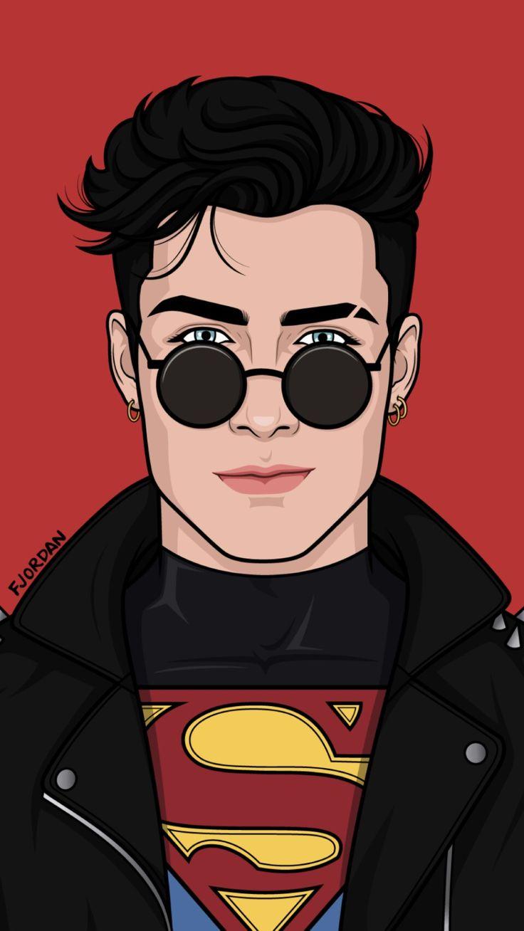 Wallpaper Superboy (DC Comics) – by Filipe Jordan