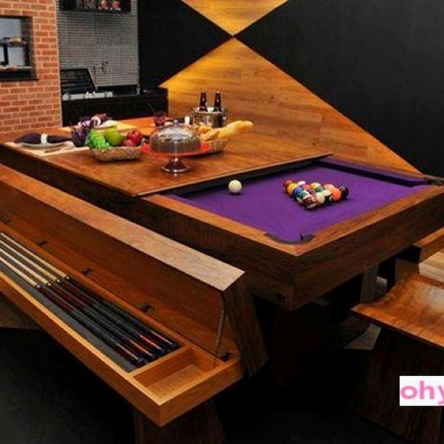 Great Pool Table Good Looking