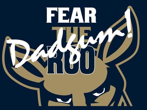 Akron Zips Football Team Fear The Dadgum Roo Akron Ohio