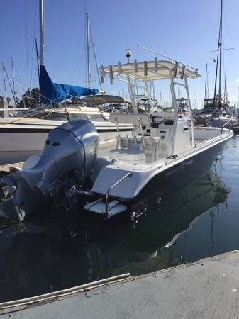 2017 THRESHER BOATS 24′ CENTER CONSOLE 4 STROKE FISHING BOAT, Inland Empire