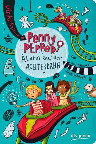 Lesendes Katzenpersonal: [Rezension] Ulrike Rylance - Penny Pepper 02: Alar...