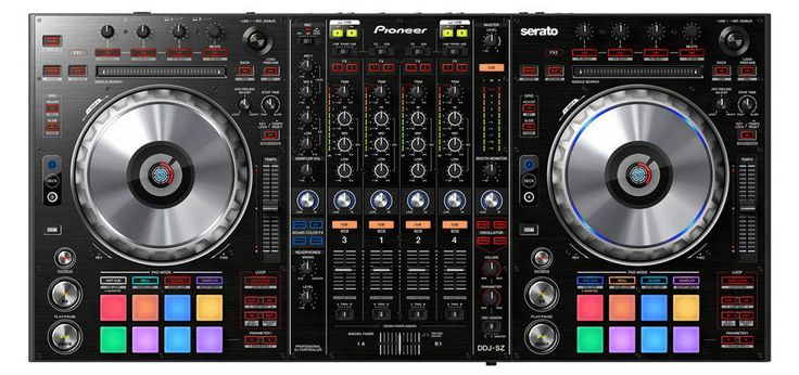 PIONEER DDJSZ VIRTUAL DJ PRO SERATO 4-CHANNEL PROFESSIONAL DJ CONTROLLER SEALED