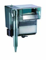 Product Description  The AquaClear 70 Power Filter provides mechanical, chemical and biological filtration through its multi-stage filtration system for aquariums between 40 to 70 gallons and filters 3000 gallons per hour.